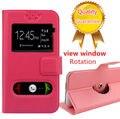 Prestigio 7600 caja, venta de cuero del tirón de lujo cajas del teléfono goma contraportada para Prestigio MultiPhone PAP7600 DUO envío gratis