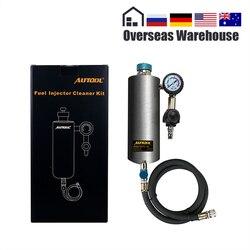 AUTOOL C80 машина для очистки топливного инжектора автомобиля Авто очиститель двигателя стиральный инструмент не-демонтаж тестер обслуживание...