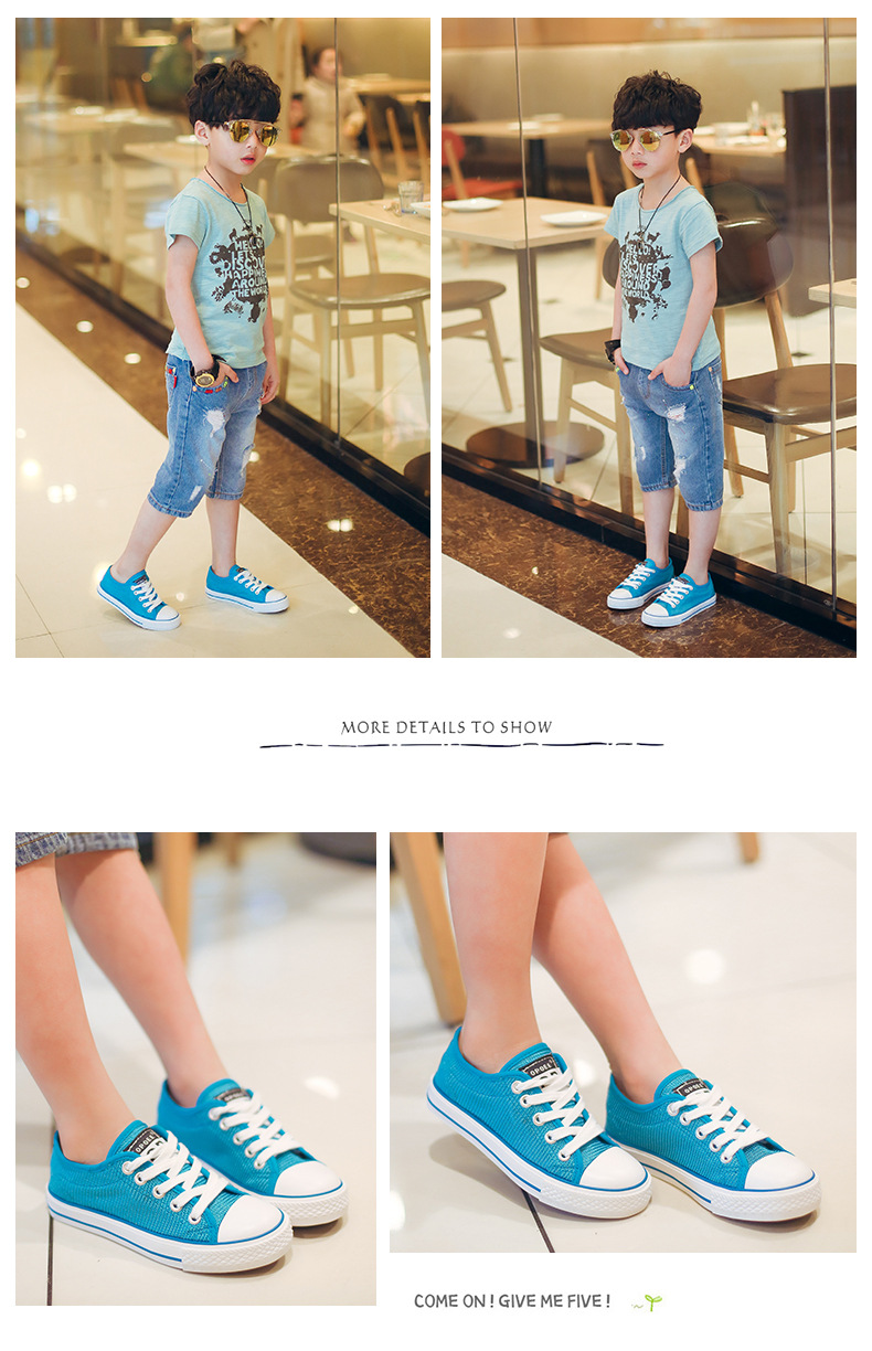 Mesh Breathable Color Tenis 18