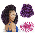 Golden Beauty 8 inch jumpy wand curl Crochet Braids Crochet Hair Extensions jamaican havana mambo synthetic twist braiding hair