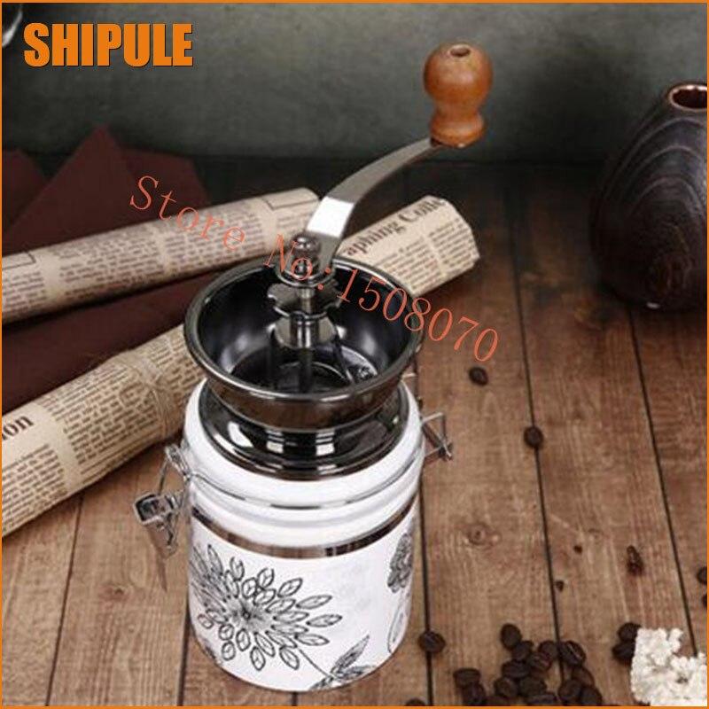 Coffee Bean Spice Hand Grinder Kitchen Accessories Coffee Bean Grinder swing portable grinder medical grinder pulverizer powder machine for herb spice bean grain pearl coffee grinder