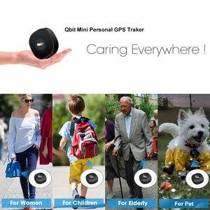 Image 4 - Concox Qbit מיני GPS Tracker נייד GPS Tracker עם קול צג SOS שיחת APP ואתר בזמן אמת GSM ילדים GPS locator