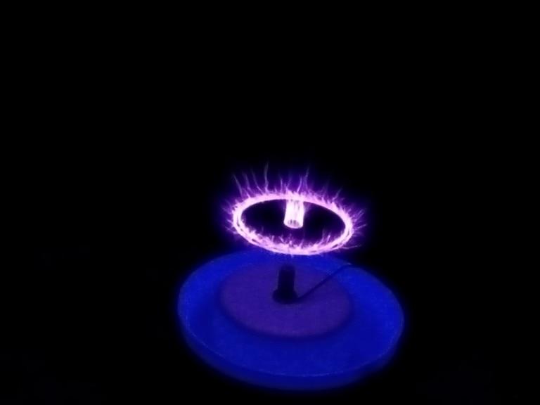 Haut-parleur Plasma Arc haut-parleur musique bobine tesla incroyable générateur clignotant expérience d'enseignement