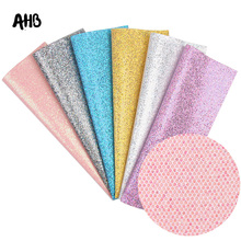 AHB 22*30CM Glitter Leather Fabric Snake Faux Mesh Covering Crafts For Wallpaper Handmade Decor Materials