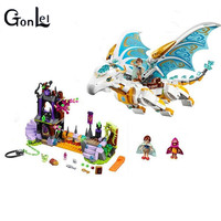 GonLeI Buidling Blocks 10550 Model Compatible Lepin Elves Long After The Rescue Cction 41179 Fairy