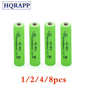 Rechargeable-Battery AAA Ni-Mh 1.2v 1800mah 4/8pcs for Camera Toys 3A New 7-