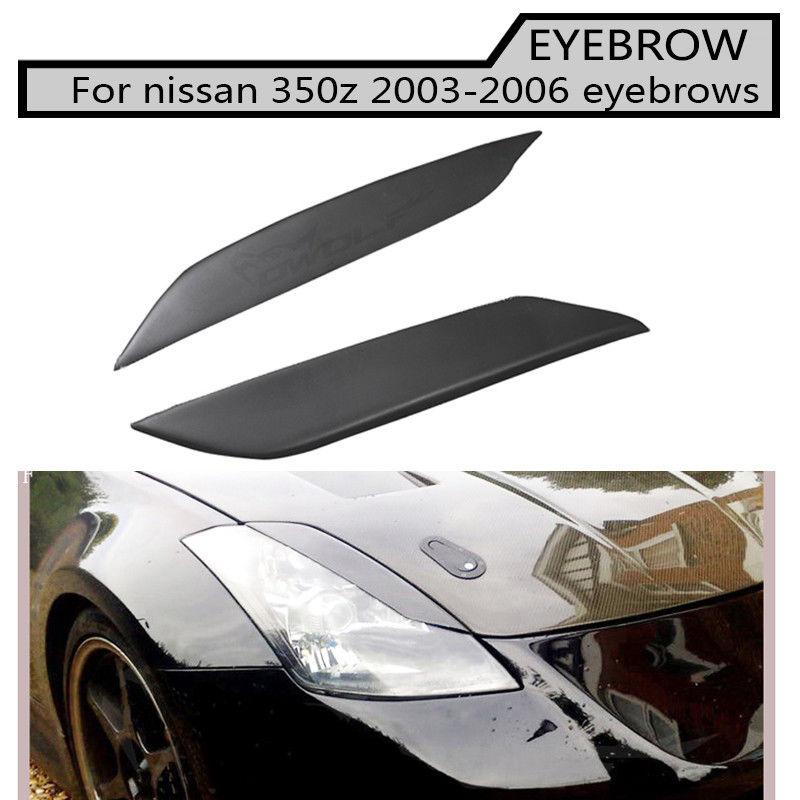 350z frp nero sopracciglio tutte le Auto del faro labbra sopracciglia Fit Per Nissan 350Z 03-06350z frp nero sopracciglio tutte le Auto del faro labbra sopracciglia Fit Per Nissan 350Z 03-06