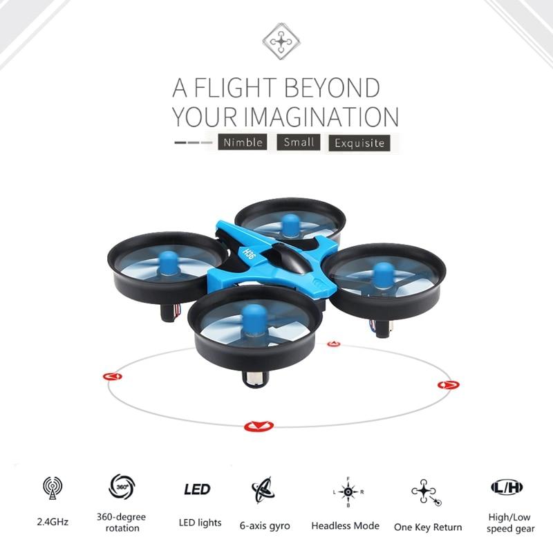 Jjrc H36 Mini Drone Rc Quadcopter-axis Rc Elicottero Lama Inductrix Quadrocopter Drons Giocattoli Per I Bambini Dron Copter