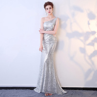 Customized Dress Sequins Celebrity Party Plus Size Sexy Dress Bodycon 2017 Women Halloween Runway Club Ladies Prom Long Dresses