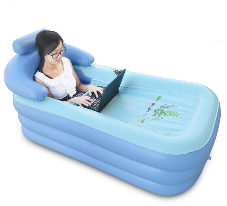 The Environmental Quality Of PVC Plastic Inflatable Bathtub Jacuzzi Bathtub  Adult In Inflatable U0026 Portable Bathtubs From Home U0026 Garden On  Aliexpress.com ...