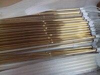 Tubo de calefacción halógeno recubierto de oro infrarrojo