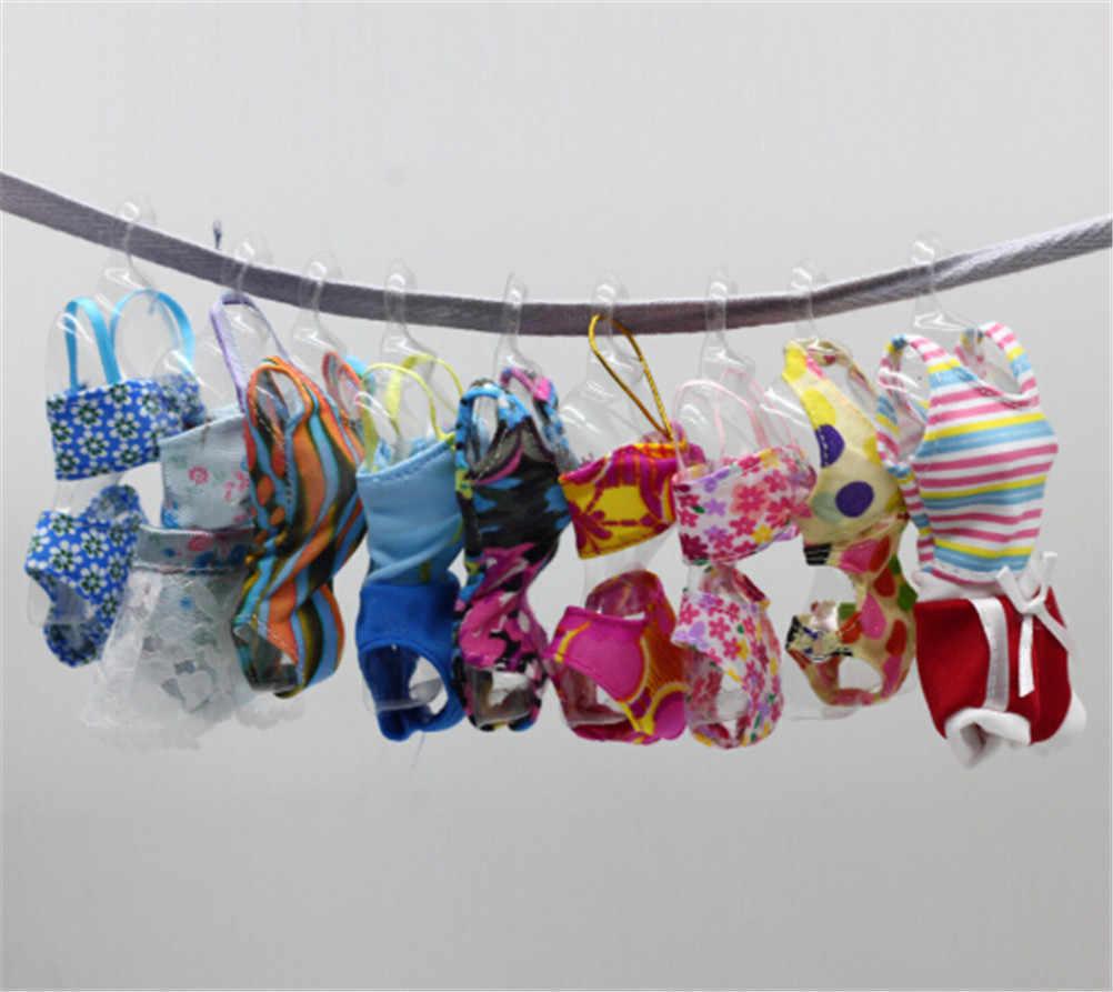 Модная одежда для плавания купальники пляжные купальные костюмы бикини летняя одежда для кукол аксессуары спасательный пояс кольцо