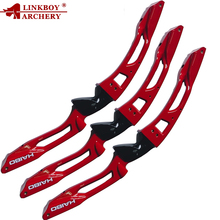1pcs Linkboy Archery Takedown Recurve Bow ILF Riser Limb Right Hand Arrows Foe Hunting Shooting Outdoor Sports