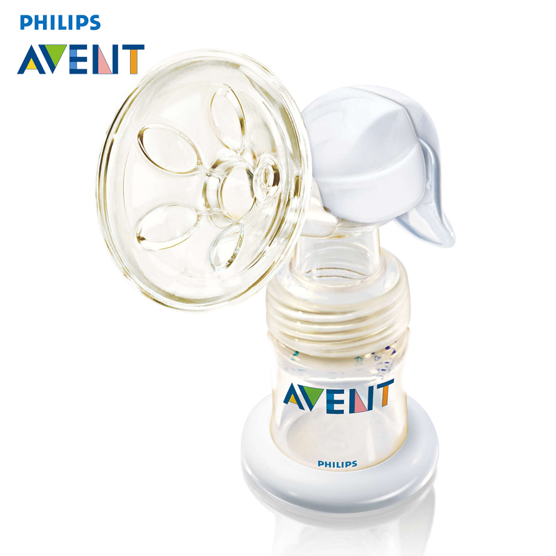 AVENT Manual Breast Pumps PP PES Breast Feeding Baby Nipple Suction Original Breast Pumps Milk Bottle Sucking manual breast pump powerful baby nipple suction 150ml feeding milk bottles breasts pumps bottle sucking t0099