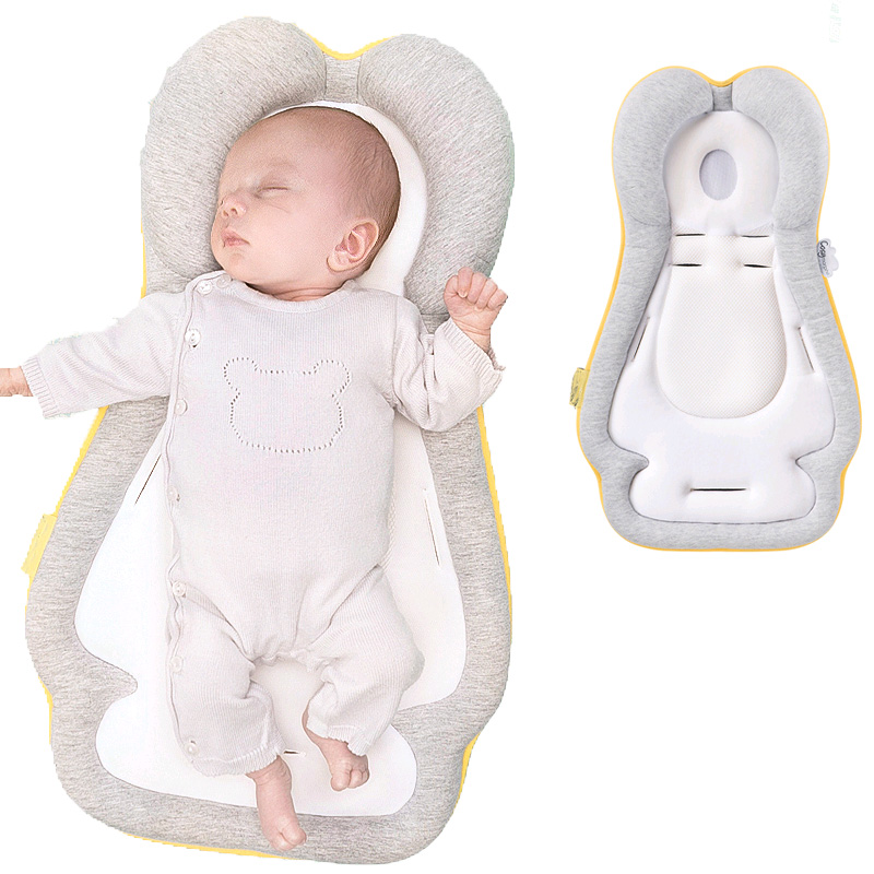 Breathable Baby Pillow Infant Sleep Positioner Mattress