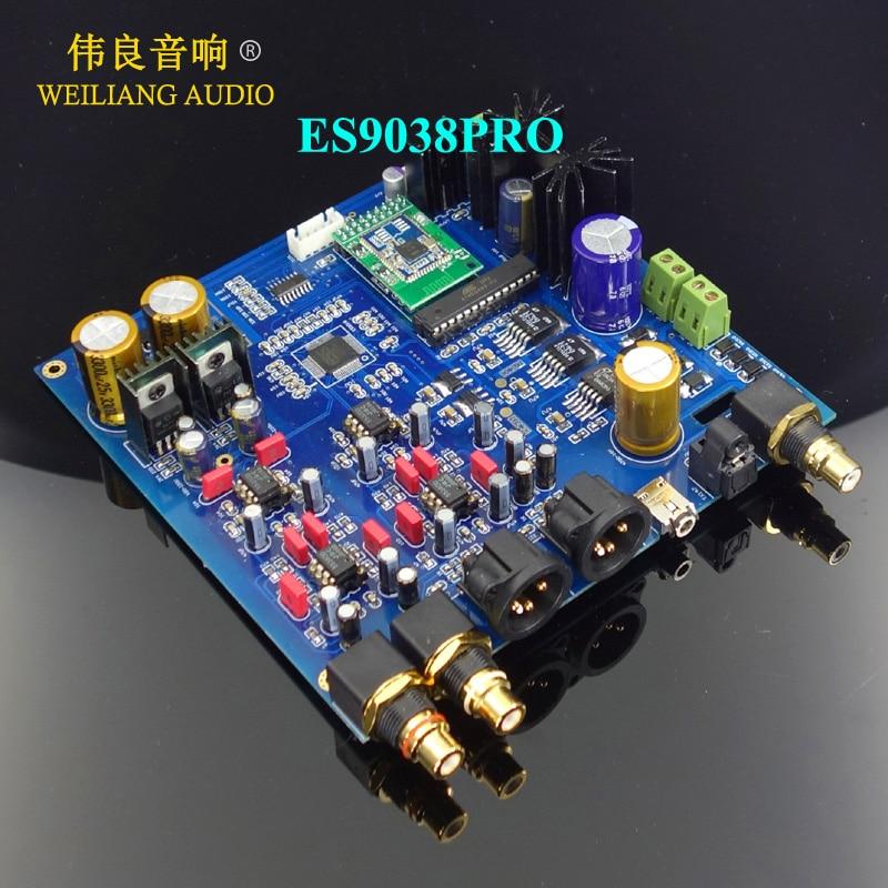 Gutherzig Es9038pro Es9038 Dac Bluetooth 5,0 Aptx-hd/dac I2s Für Raspberry Pi Cd Mod Mobile Angemessener Preis Digital-analog-wandler