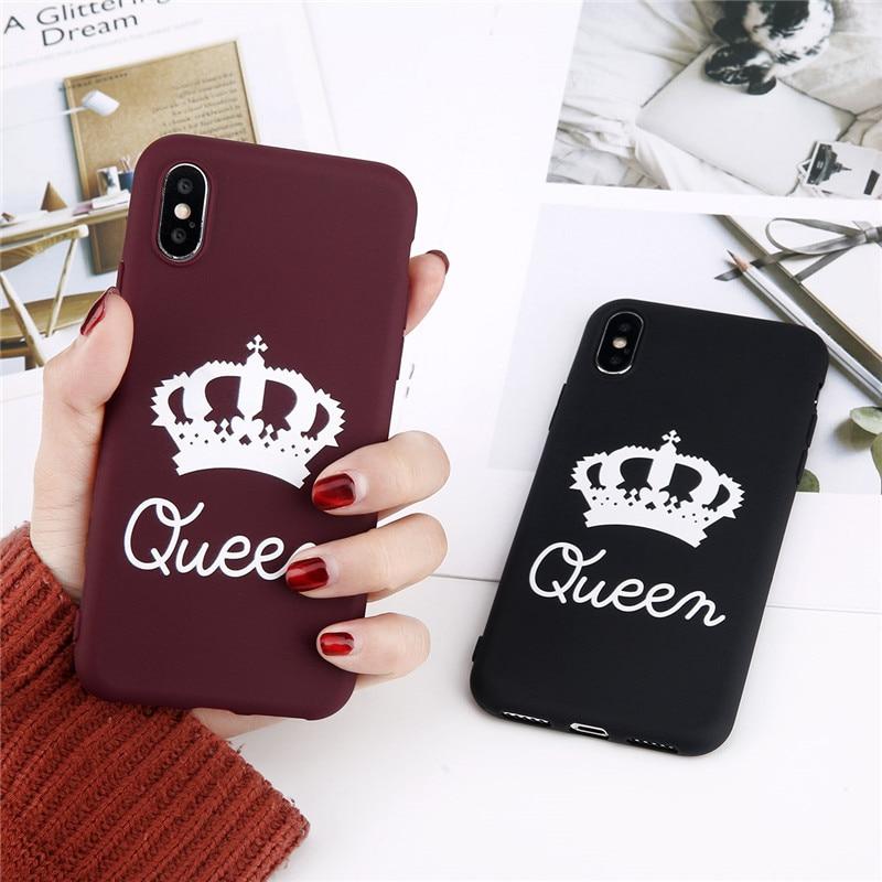 coque iphone 8 plus king queen