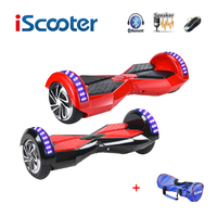 IScooter hoverboard bluetooth 8 cal 2 Dwa Koła Własny Bilans Skutery elektryczne Hover Deski Inteligentny bilans Koła LED Światła