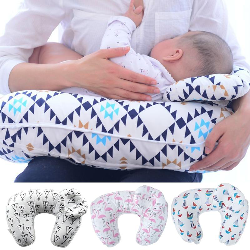 Baby Nursing Pillows Maternity Baby Breastfeeding Pillow Infant Cuddle U-Shaped Newborn Cotton Feeding Waist Cushion