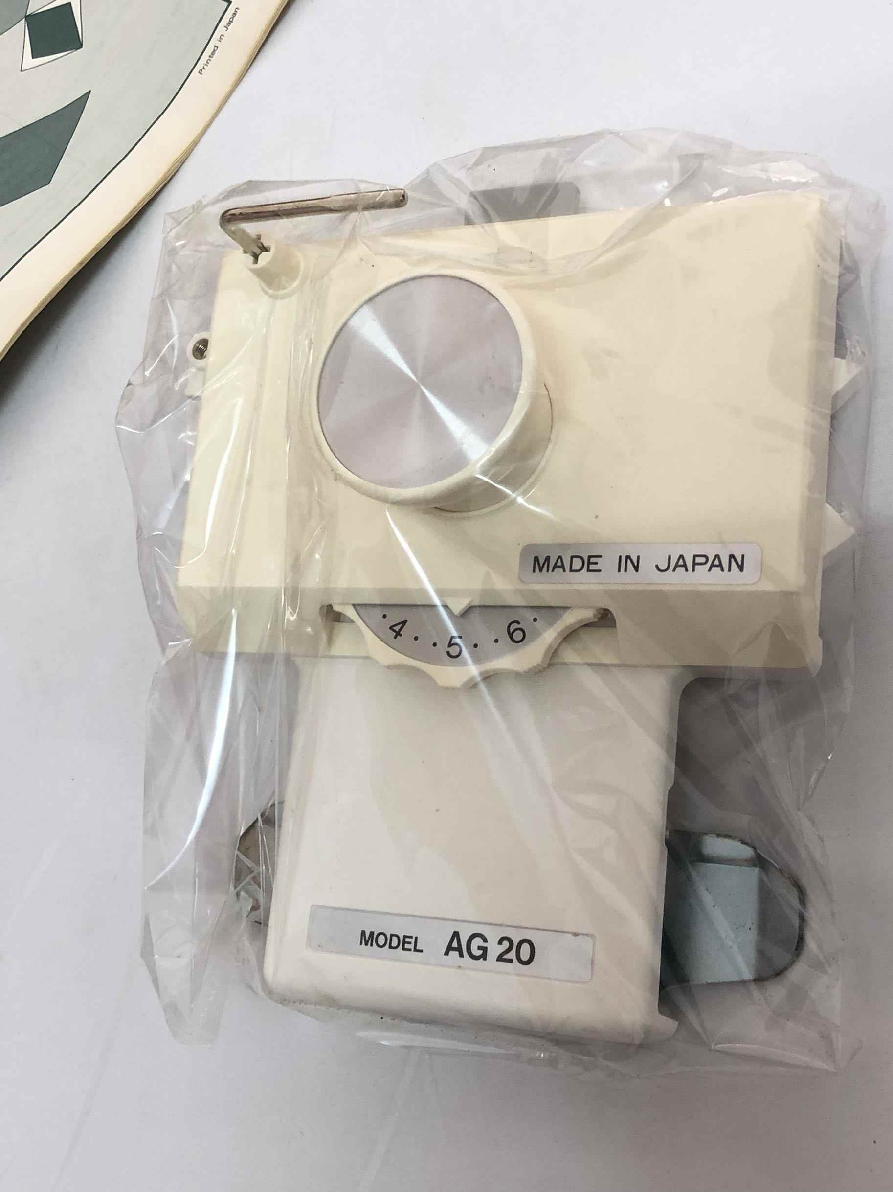 Silver Reed Part braiding machine sweater intarsia head MADE IN JAPAN MODEL AG20