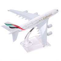 Brand New Airbus380 Emirates Airlines A 380 Aircraft Aeroplan 16cm Diecast Model United Arab Emirates A380