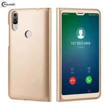 Как пожелаешь флип-чехол кожаный чехол для Huawei p20 Lite Nova 3E P 20 Lite P20lite Nova3E 5,84 мобильный чехол для телефона чехол Slim сумка