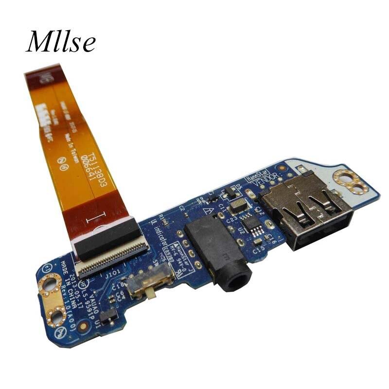 Dell Genuine Latitude E7440 USB Audio Board LS-9591P H65F0 0H65F0