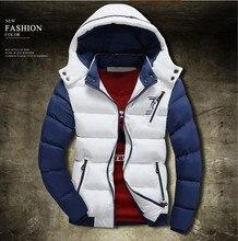 2016Men's boutique in winter qualität slim fit warme cotton-padded kleidung/Männliche hochwertigen warme kapuzenjacke/männer freizeit mantel