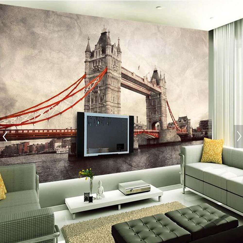 London Wallpaper Bedroom Online Buy Wholesale London Bedroom Wallpaper From China London