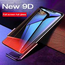 9D Transparent Screen Protector Tempered Glass For Xiaomi Mi 9 8 SE Lite Protective Film For Redmi Note 4 5 6 7 Pro Pocophone F1 все цены