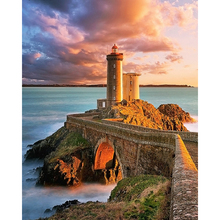 YIKEE diamond painting Lighthouse,5d diamond painting full drill square,5d diamond K826 yikee diamond painting lighthouse 5d diamond painting full drill square 5d diamond k826