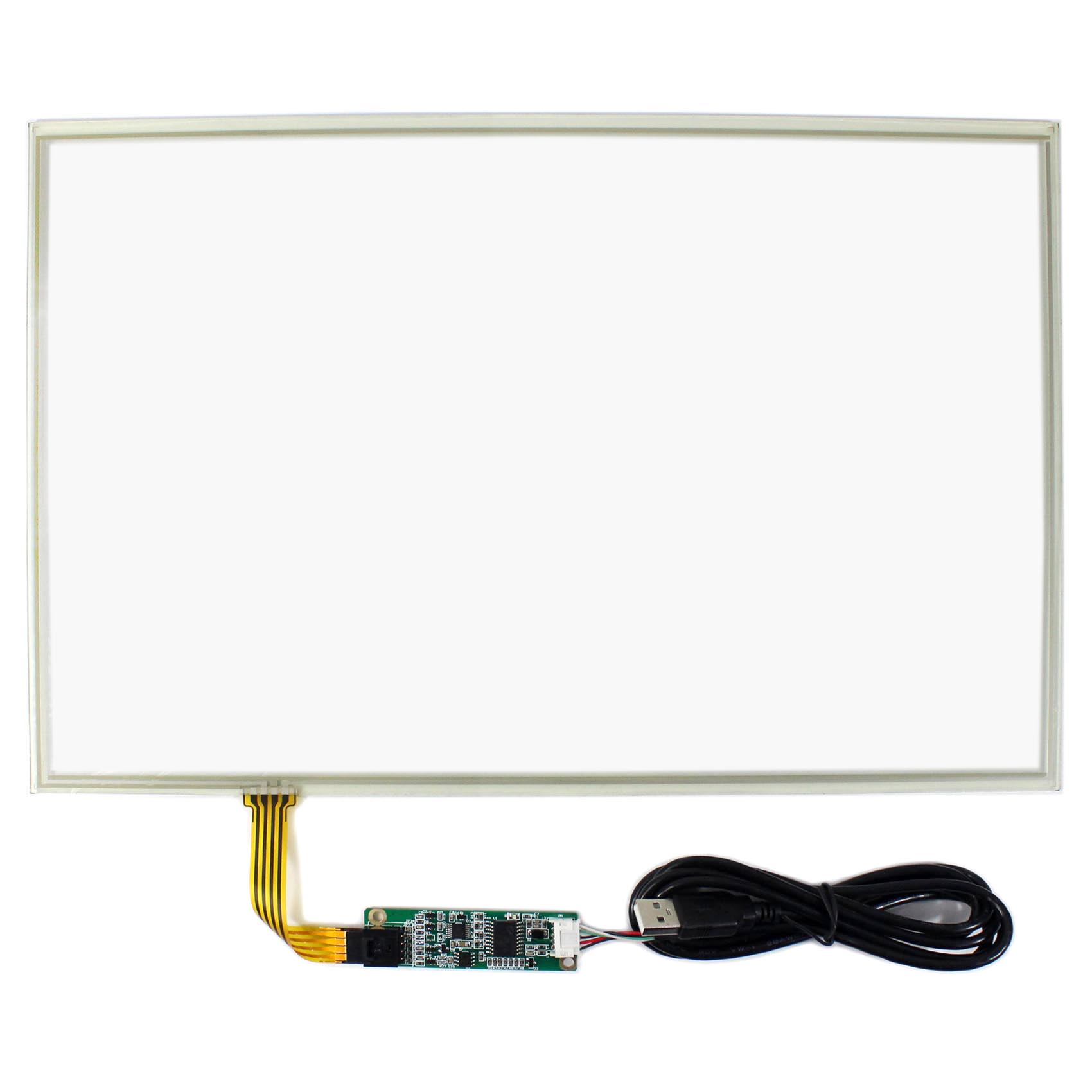 15.4 Resistive Touch Panel With Controller Card for 15.4 1280x800 LCD Screen15.4 Resistive Touch Panel With Controller Card for 15.4 1280x800 LCD Screen