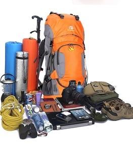 Image 5 - KOKOCAT جديد 60L المشي لمسافات طويلة على ظهره الرياضة في الهواء الطلق حقيبة تسلق الجبال مع غطاء للمطر حقيبة السفر