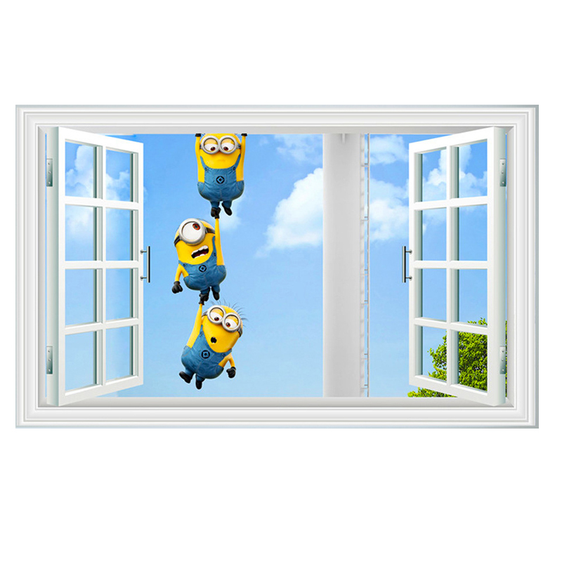 Wall Decals Minion Reviews Online Shopping Wall Decals Minion - Minion wall decals