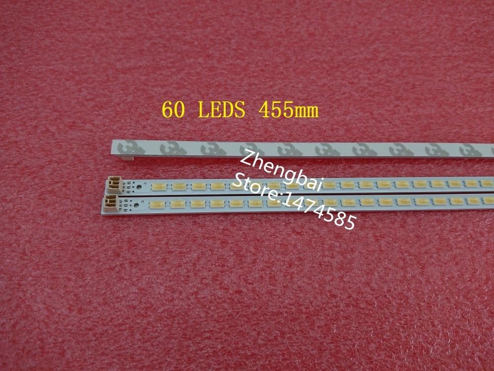 2 Pieces LTA400HM13 LED strip 40-DOWN LJ64-03029A 40LNCH-L1S-60 60 LEDs 455MM 2011SGS40 5630 60 H1 REV1.1 1piece for tcl lcd tv led backlight l40f3200b article lamp lj64 03029a 2011sgs40 5630 60 h1 rev1 1 1piece 60led 455mm is new