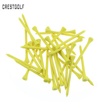 100pcs/bag size 70mm wooden golf tees Golf Wood Tees with several colors
