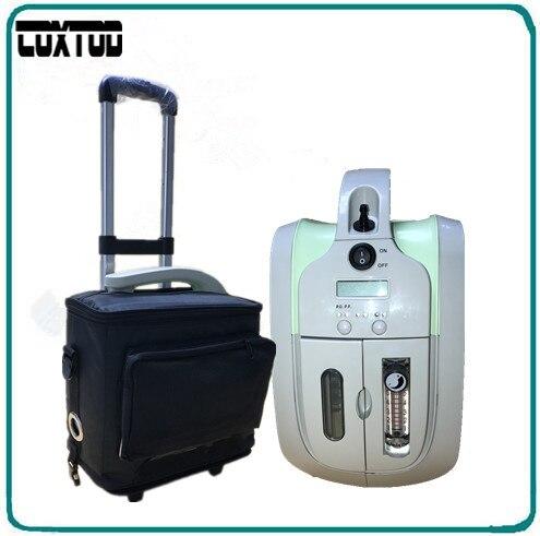 COXTOD batteria 1-5LPM portatile concentratore di ossigeno/ossigeno generatore/mini concentratore di ossigeno JAY-1 per BPCO CHE VIAGGIANO SUL WEB/home /da viaggio/auto