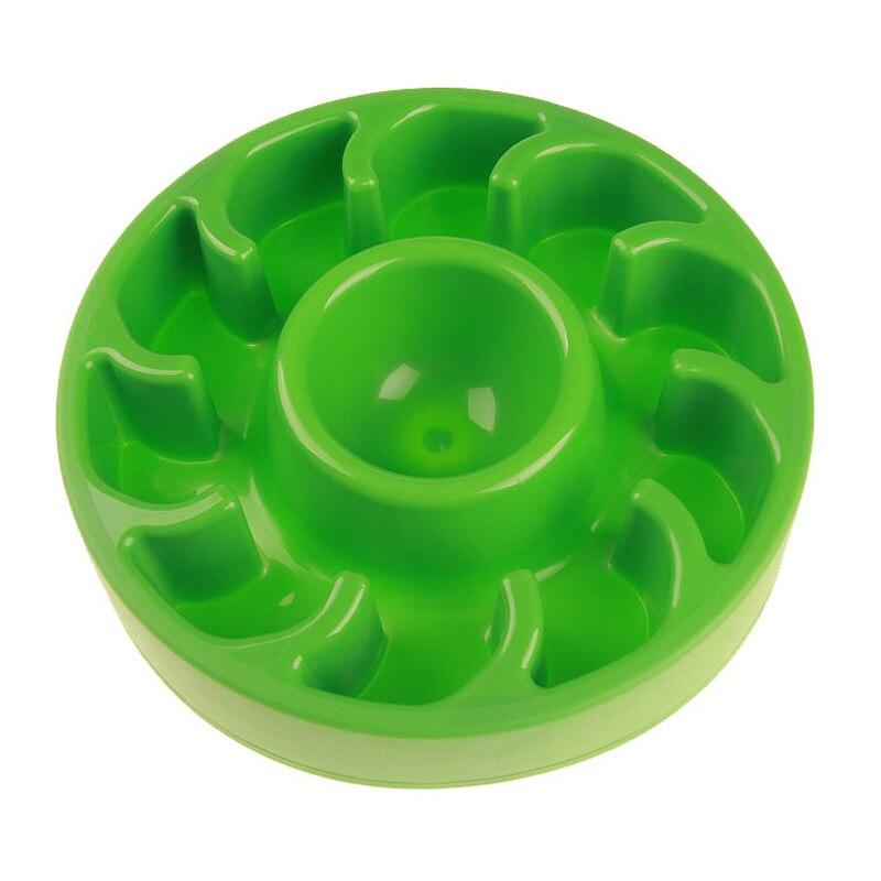 Anti Choke Pet Dog Feeder Slow Eating Bowl Plastic Non-Toxic Interactive Bloat Stop Dog Dish Prevent Obesity Feeding Water Bowl