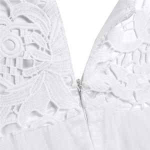 Image 4 - 2020 Girls Mesh Spaghetti Shoulder Straps Flower Girl Dress High waisted Princess Pageant Ball Gown Wedding Party Dress SZ 2 14