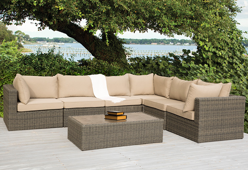 Sigma High Quality Outdoor Modern Roots Rattan Furniture