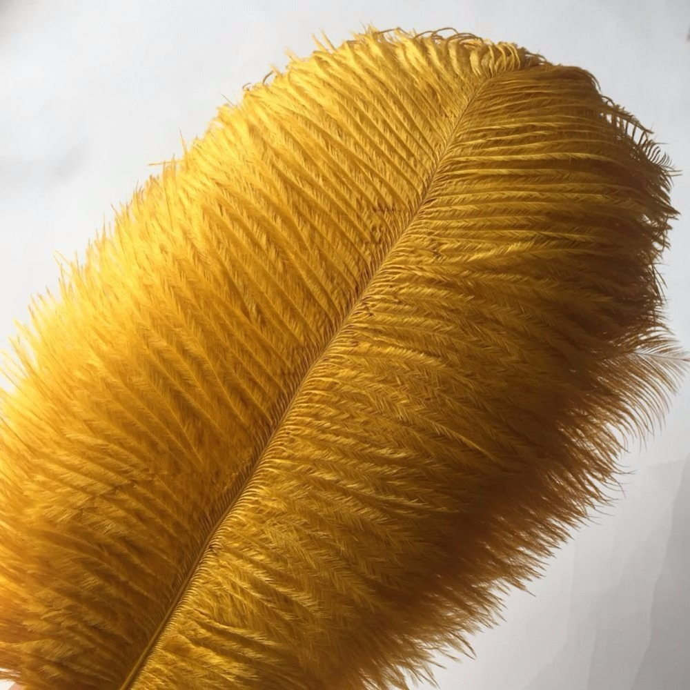 """5 pcs Ostrich Feathers Millinery /& Crafts 6-8/"""" Brown"""
