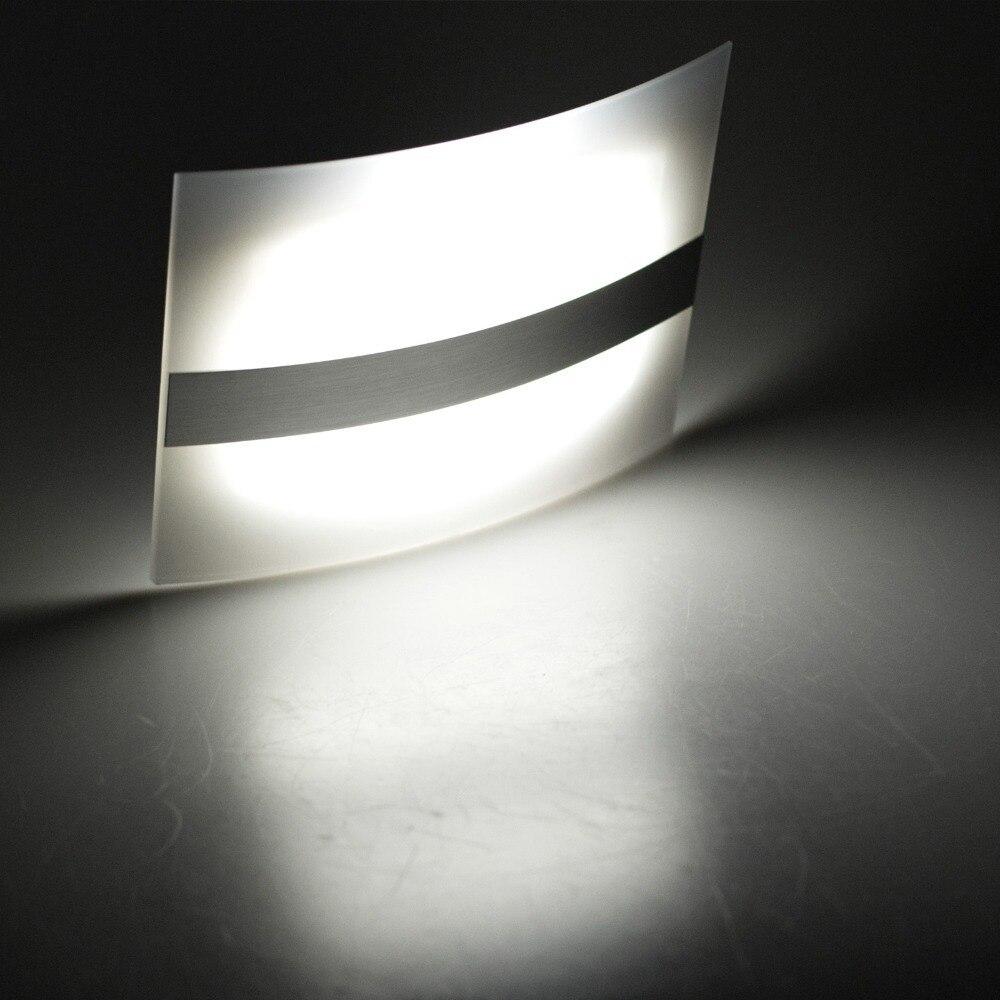 led wall light wireless aluminum case home lighting bright motion sensor night light activated wall lamp cheap home lighting