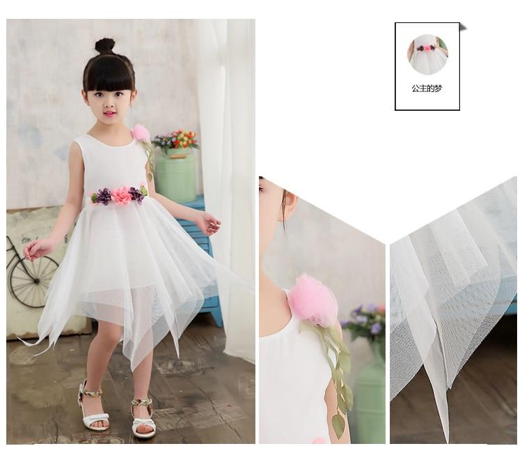 Noiva Elegent Princesa Vestidos para 2-13Y