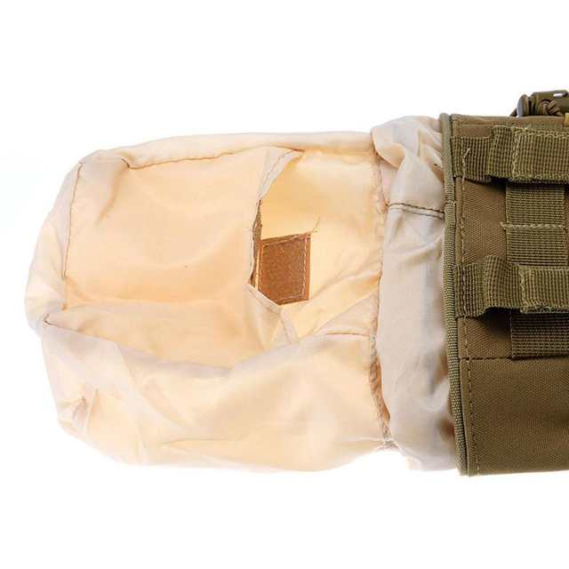 US $6 47 35% OFF|Gear bundles Molle Drawstring Magazine Dump Pouch Military  Adjustable Belt Utility Hip Holster Bag Outdoor Pouch-in Storage Bags from