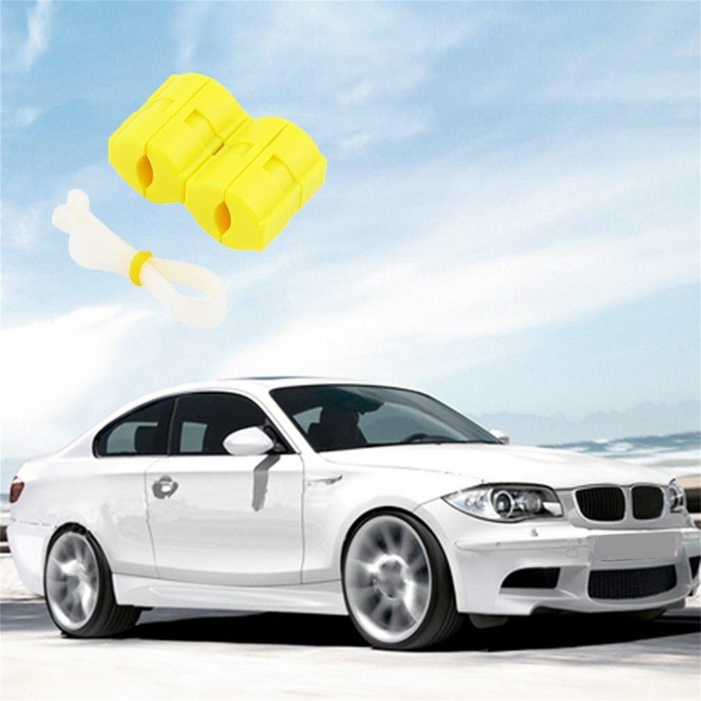 Ernstig Nieuwe Collectie 1 Paar Universele Abs Magnetic Gas Fuel Saver Speciaal Voor Auto Voertuig Verminderen Emissie Geel Case Xp-2