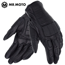 M,L,XL,XXL Rallye4 GS Fashion Breathable Carbon Fiber Leather Gloves Motocross Men's Enduro Bicycle Motorcycle Gloves Summer