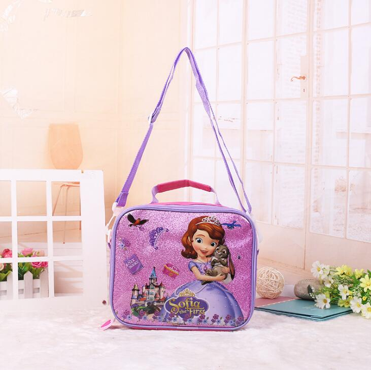 Kids Lunch Bag For Girls Boys Cartoon Lunch Box Kids Boys Children School Picnic Food Thermal Insulated Bags