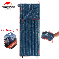 NEW NatureHike Ultralight Envelope Sleeping Bag Goose Down Lazy Bag Camping Sleeping Bags 570g NH17Y010 R
