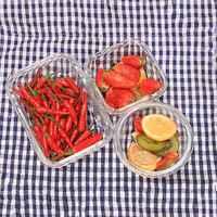 Glas Maaltijd Prep Voedsel Opslag Lunchbox met Gratis Luchtdicht Snap Vergrendeling Deksels Prep Freeze Opwarmen Oven Veilig Containers Scherper