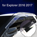 Новый стиль! Для Ford Explorer 2016 2017 оконные козырьки навесы защита от ветра и дождя Дефлектор козырек защита вентиляционное отверстие